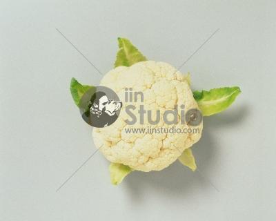 Closeup of a cauliflower