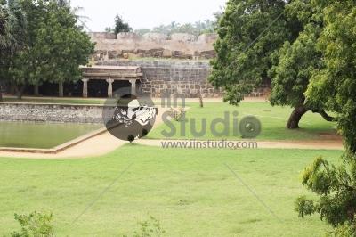 Vattakottai (Circular Fort) Inside View