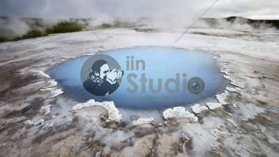 Hot spring in the thermally active area of Hveravellir