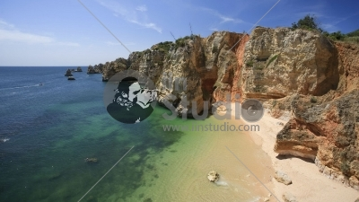 Praia da Dona Ana, Lagos, Algarve, Portugal