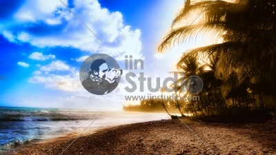 wallpapers-dubstep-electronic-beach-surreal