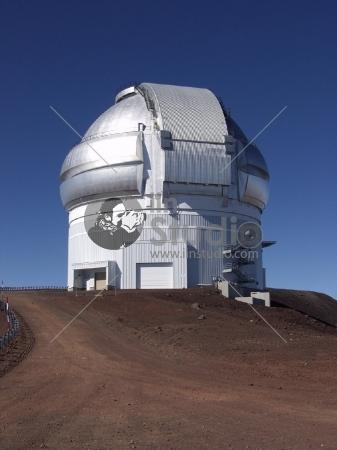 Gemini Observatory North on mauna kea Hawaii