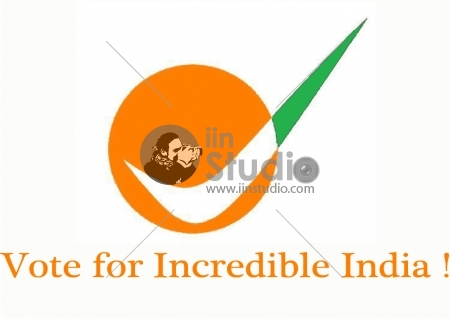 Vote for Incredible India