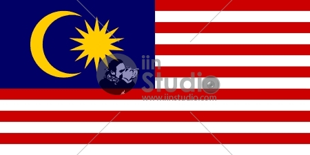 original and simple Malaysia flag isolated vector in official colors