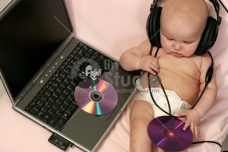 computer genius - newborn