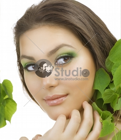 Beautiful Young Woman portrait.Healthy skin