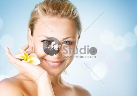 Spa Girl's face