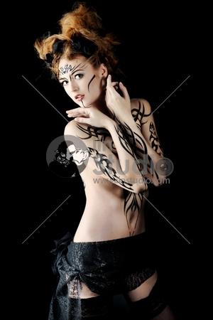 Body painting project: art, fashion, beauty