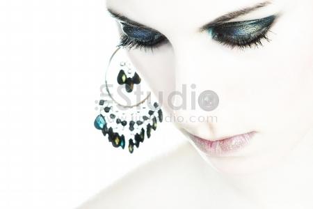 A extreme make-up shoot