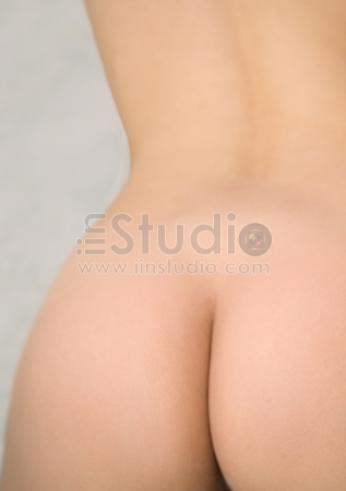 Attractive Woman Buttocks