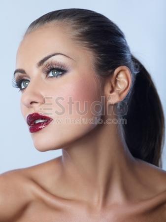 Gorgeous brunette