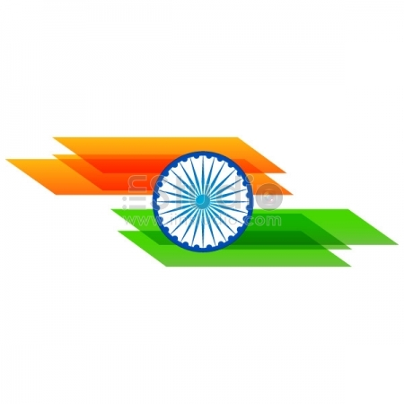 Stylish Flag Of India Free Vector