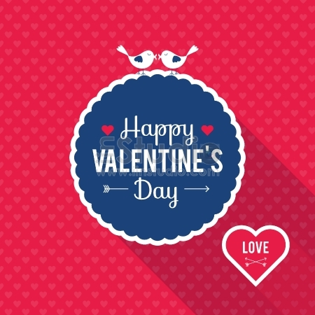 Happy Valentine's Day Greetings card