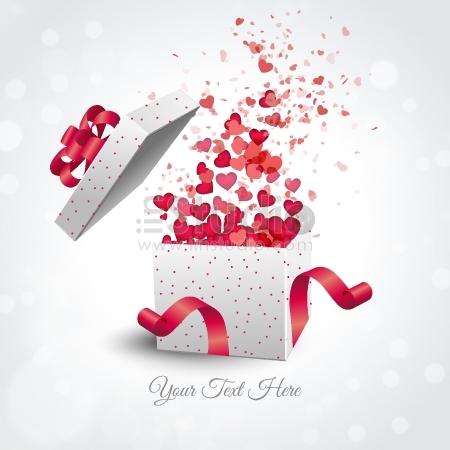 Valentine's present box