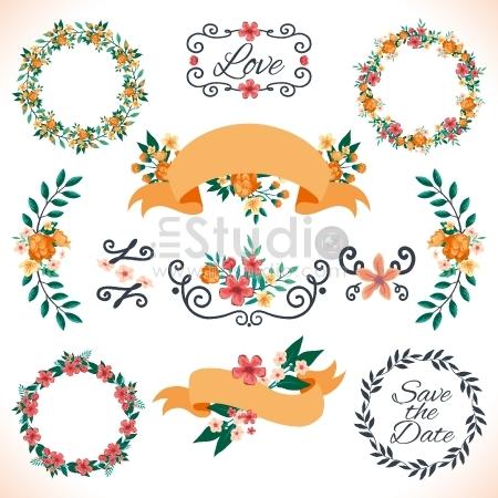 Floral decoration for wedding