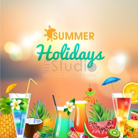 Hawaii summer vector