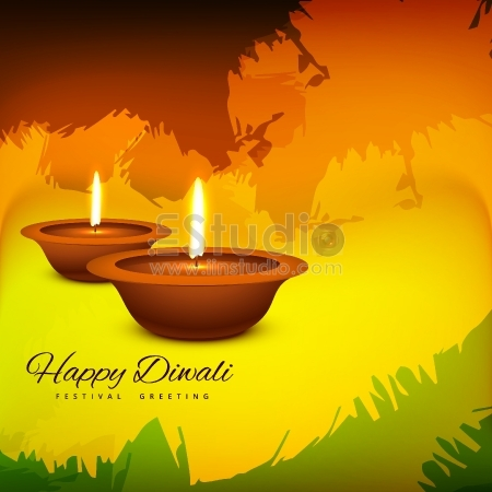 Happy Diwali festival greeting