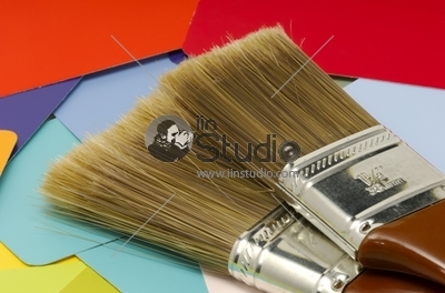 Brushes on the Color matt