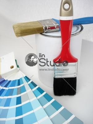 Color code matt and Paint Brush, Paint