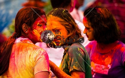 Juvenile Joy - Holi Celebration